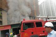 Hà Nội: Cháy lán công nhân, xe máy bị lửa thiêu chảy