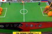 Gà, vẹt, chuột, đại bàng đự đoán kết quả, tỷ số trận Nhật -Colombia