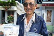 Tuổi 72 đánh liều khởi nghiệp với giống gạo huyết rồng