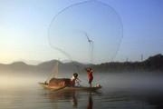 Tìm thấy thi thể nam sinh viên chèo ghe đánh cá, bị lật úp trên sông