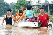 Thủy điện xả lũ ngay đợt mưa kéo dài, nhiều nơi ở Đồng Nai ngập nặng
