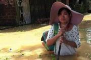 Chương Mỹ - Hà Nội: Làng mạc biến thành sông, dân vật lộn trong biển nước