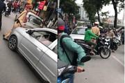 Nóng trong ngày: Bất ngờ vụ nữ tài xế nói 'rất bận', đẩy lùi CSGT