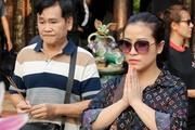Danh hài Mai Sơn hộ tống vợ kém 20 tuổi đi quay phim kinh dị