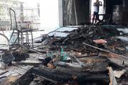 Thanh niên nghi ngáo đá phóng hỏa đốt nhà