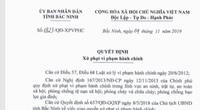 Bắc Ninh: Hai người Trung Quốc nhập cảnh trái phép bị xử phạt 40 triệu đồng
