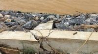 Bão số 7 hướng vào Nghệ An, bờ kè dự án hơn 300 tỉ đồng nhiều đoạn bị đứt gãy