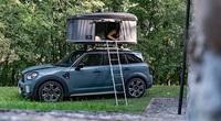 Siêu phẩm xe hơi đến từ nước Anh có lều ngủ trên nóc