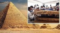 """Sững sờ phát hiện """"báu vật"""" 4.000 năm tuổi trong quan tài cổ ở Ai Cập"""