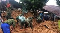 Mưa lớn, lực lượng cứu nạn người bị vùi lấp ở Đoàn 337 dừng tìm kiếm