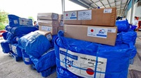 Nhật Bản hỗ trợ 50 máy lọc nước cho nhân dân vùng lũ