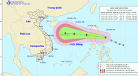 Nóng: Dự kiến, sáng mai 21/10, bão Saudel đi vào biển Đông, thành bão số 8