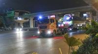 Ngắm trước đoàn tàu đầu tiên tuyến metro Nhổn - Ga Hà Nội vừa về tới Thủ đô ngay trong đêm