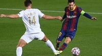 Messi cân bằng kỷ lục của Giggs tại Champions League