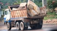 """Dùng xe ben """"quá đát"""", hết kiểm định…thi công dự án nghìn tỷ ở Bình Định: Cực kỳ nguy hiểm(!)"""