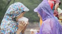 Lũ vượt mốc năm 1979, người dân Lệ Thủy vượt đồi cát xin đồ ăn