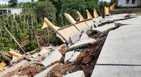 Vụ công trình tiền tỷ sập do mưa: Thiết kế, thi công, giám sát đều sai