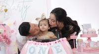 Vợ chồng Bùi Tiến Dũng bật mí điều gì về con gái Sushi trong ngày sinh nhật