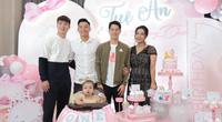 Đình Trọng, Duy Mạnh bỏ xem Hà Nội thi đấu đến tham dự  sinh nhật con gái Bùi Tiến Dũng