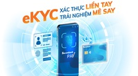 Ra mắt tính năng xác thực danh tính trực tuyến và mở tài khoản giao dịch ngay trên Sacombank Pay