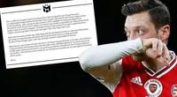Bị Arsenal loại thẳng tay, Ozil vẫn nói những lời đầy cảm xúc