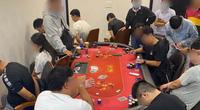 TP.HCM: Phá sòng Poker có người ngoại quốc tham gia ở khu dân cư Palm Residence