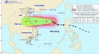 Bão số 8 cách quần đảo Hoàng Sa 320km, giật tới cấp 15