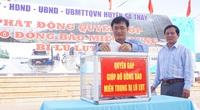 """Kon Tum: Huyện biên giới Sa Thầy gom """"yêu thương"""" gửi bà con vùng lũ miền Trung"""