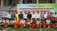 """BLV Ngô Quang Tùng: """"Giải bóng đá báo NTNN/Dân Việt giúp giới báo chí hiểu nhau hơn"""""""