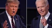 """Trump - Biden """"đấu khẩu"""" dữ dội, liên tục """"vạch trần"""" nhau trong trận tranh luận cuối cùng"""