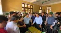 Thủ tướng kiểm tra công tác khắc phục hậu quả mưa lũ tại huyện Quảng Ninh, Quảng Bình
