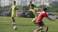 Khoảnh khắc đẹp trong ngày khai mạc giải bóng đá báo Nông thôn Ngày nay/Dân Việt lần thứ 12