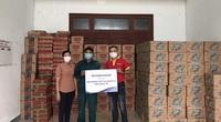 Masan phối hợp với Bộ NNPTNT trao tặng 6 tấn thịt viên, hàng trăm thùng mì, nước mắm, thịt kho đến vùng lũ miền Trung
