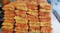 Báo NTNN/Điện tử Dân Việt tiếp tục chuyển 10 tấn gạo qua đường sắt đến Quảng Bình