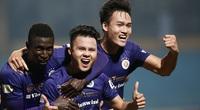 """Quang Hải """"xé lưới"""" B.Bình Dương, đưa Hà Nội FC lên đỉnh V.League"""