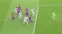 Barca bị oan trong tình huống Ramos kiếm về cho Real quả phạt đền?