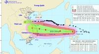 Khẩn: Sáng mai, 26/10 bão Molave vào biển Đông, cường độ mạnh, di chuyển nhanh