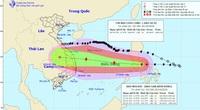 Sáng nay, bão Molave vào biển Đông, giật cấp 14