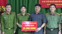 Thưởng nóng công an tỉnh phá án nhanh vụ lừa tiền 'góa phụ Rào Trăng 3'