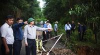 Bí thư, Chủ tịch Bình Định Hồ Quốc Dũng thị sát, yêu cầu sơ tán dân trước 17h chiều nay