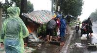 Trú mưa tránh bão, một người bị bêtông rơi trúng đầu chấn thương sọ não