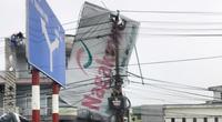Miền Trung: Mất điện 21.863 trạm biến áp do ảnh hưởng bão số 9