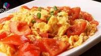 Bí mật để món trứng chưng cà chua thơm ngon, sánh quyện