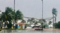 TRỰC TIẾP ngày 28/10: Bão số 9 - Molave giật cấp 16 đang vào miền Trung, nhiều nhà ở đảo Lý Sơn bị tốc mái