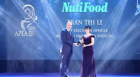 """NutiFood lập """"hat-trick"""" với 3 giải thưởng về doanh nghiệp và lãnh đạo xuất sắc nhất Châu Á"""