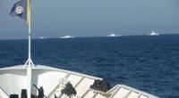 Điều tàu Kiểm ngư tìm kiếm 26 ngư dân trên các thuyền bị sóng đánh chìm trong bão số 9