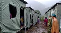 Nguy cơ sạt lở, huyện biên giới Việt - Lào sơ tán gấp hàng trăm người dân