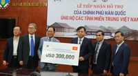 Hàn Quốc hỗ trợ ngay 300.000 USD giúp người dân miền Trung khắc phục hậu quả thiên tai