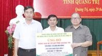 """Chủ tịch Hội ND Việt Nam Thào Xuân Sùng: Hội Nông dân sẽ chung tay hỗ trợ """"nhà sàn hóa"""" cho bà con vùng lũ"""