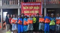 Những món quà nghĩa tình của bạn đọc Báo NTNN/Điện tử Dân Việt kịp thời đến tay người dân miền Trung